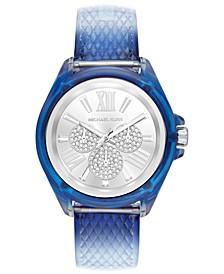 Women's Wren Ombré Blue Polyurethane Strap Watch 42mm