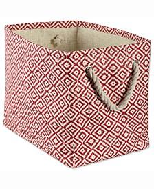 Design Import Paper Bin Geo Diamond, Rectangle