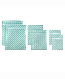Lattice Set D Mesh Laundry Bag, Set of 6
