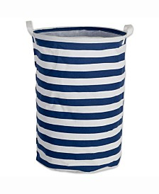 Laundry Hamper Stripe, Round