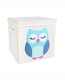 Kid Cube Owl, Square with Lid