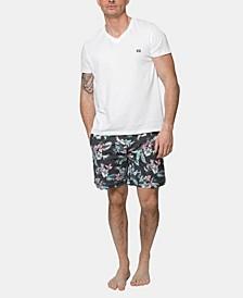 Soft Hawaiian Floral Board Shorts
