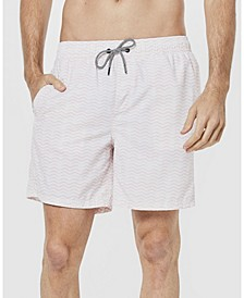 Men's Wave Swim Trunks