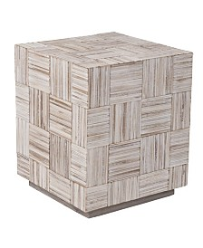 East At Main's Avalon Teak Accent Table