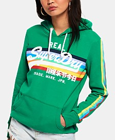 Superdry Logo-Print Hooded Sweatshirt