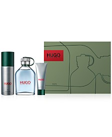 Hugo Boss Men's 3-Pc. HUGO Man Eau de Toilette Gift Set