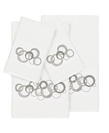 Turkish Cotton Annabelle 4-Pc. Embellished Towel Set
