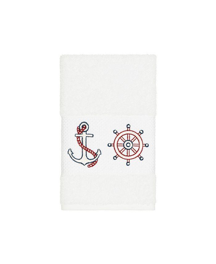 Linum Home - Turkish Cotton Easton Embellished Hand Towel