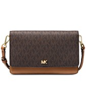 b288eb797167 MICHAEL Michael Kors Signature Leather Phone Small Crossbody