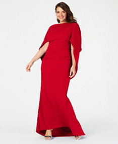 Red Plus Size Dresses - Macy\'s