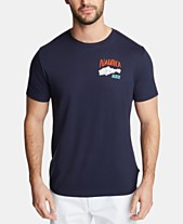 811d74bcc Nautica Men's South Harbor Cotton Graphic T-Shirt, Created for Macy's