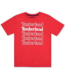 Timberland Big Boys Colebrook Logo T-Shirt