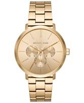 a9935d008825 Michael Kors Men s Blake Gold-Tone Stainless Steel Bracelet Watch 42mm