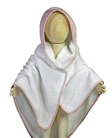 3 Stories Trading Striped Hooded Baby Bath Towel