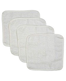 3 Stories Trading Solid Bath Washcloth With Piping