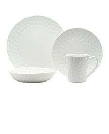 Vanilla Marble Round 16-piece Dinner Set