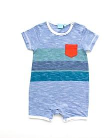 Baby Boy Short Sleeve Romper