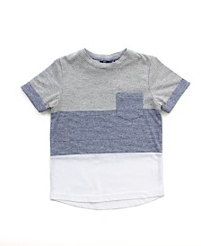 Baby Boy Short Sleeve Colorblock Tee