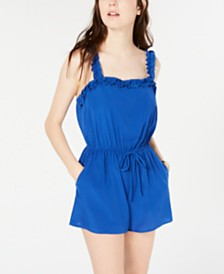 Be Bop Juniors' Ruffle-Detail Romper