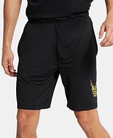 Men's Dri-FIT Printed-Logo Training Shorts