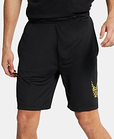 Nike Men's Dri-FIT Printed-Logo Training Shorts
