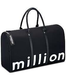 Receive a FREE Weekender Bag with any large spray purchase from the Paco Rabanne 1Million Fragrance Collection