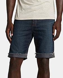 Silver Jeans Co. Men's Allan Classic-Fit Comfort Stretch Denim Shorts