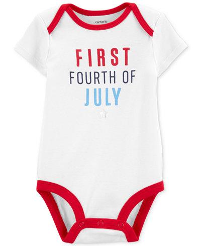 Carter's Baby Boys Cotton Holiday Bodysuit