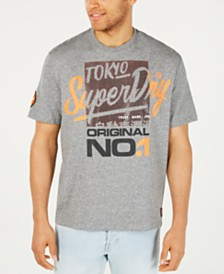 Superdry Men's Reactive Classic Box Fit T-Shirt