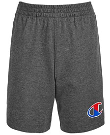 Little Boys Two-Tone Logo Jersey Shorts