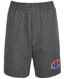 Champion Little Boys Two-Tone Logo Jersey Shorts