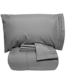 King 5-Pc Comforter and Sheet Set