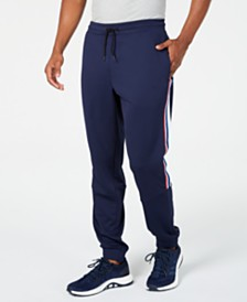 ID Ideology Men's Striped Joggers, Created for Macy's