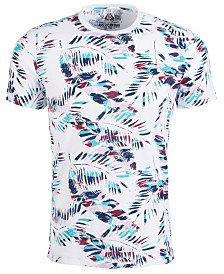 American Rag Men's Pop Color Palm Frond Graphic T-Shirt, Created for Macy's