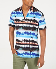 I.N.C. Men's Panama Shirt, Created for Macy's