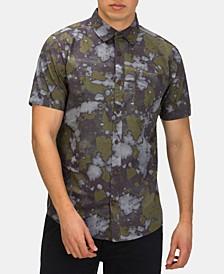 Men's Bleach Daze Printed Shirt
