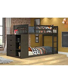 Twin Over Twin Mission Chest Bunk Bed