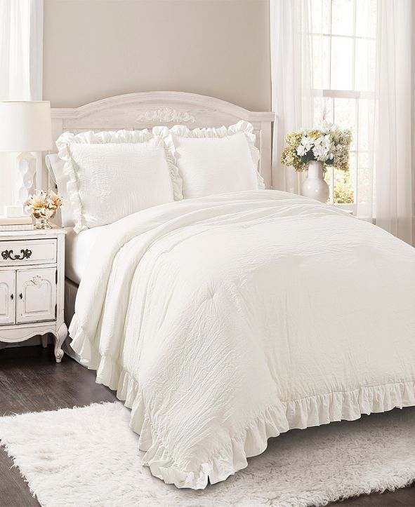 Lush Decor Reyna 3Pc King Comforter Set