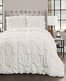 Bella 3-Piece Full/Queen Comforter Set