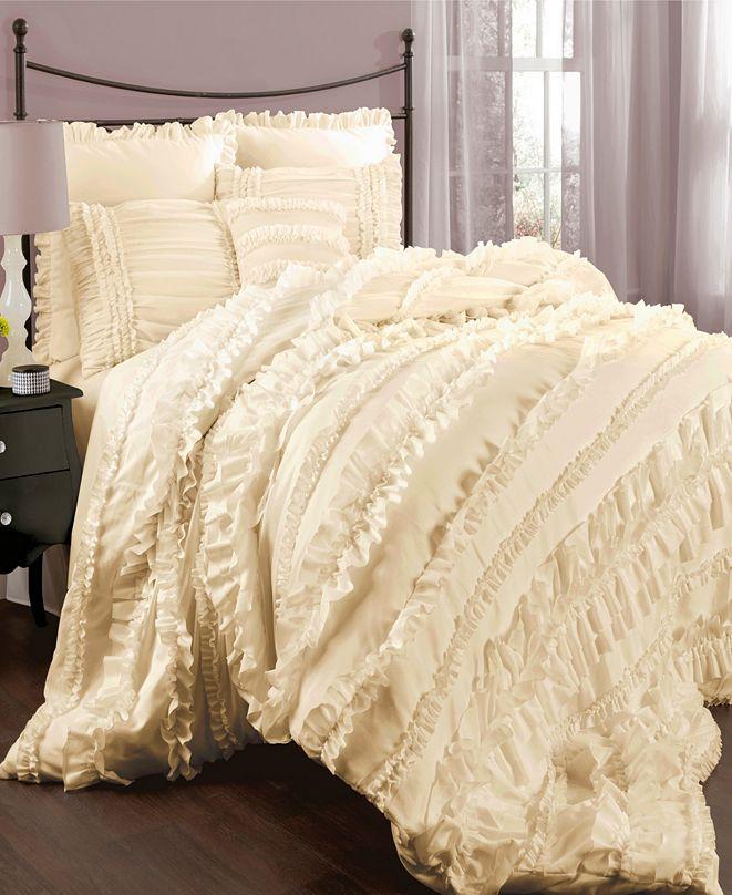 Lush Decor Belle 4-Pc. Full/Queen Comforter Set