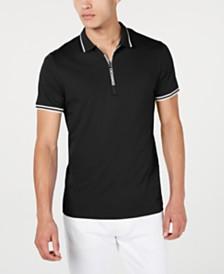 A|X Armani Exchange Men's Zipper Logo Polo