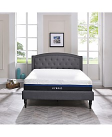 "Sleep Trends Vanetia 11.5"" Medium Firm Hybrid Mattress, Quick Ship, Mattress In A Box- King"