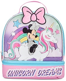 Bioworld Minnie Mouse Little & Big Girls Dual Lunch Kit