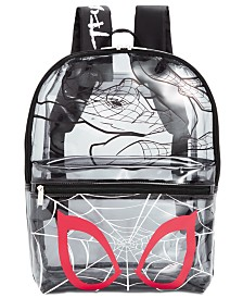 Bioworld Little & Big Boys See-Through Spider-Man Backpack