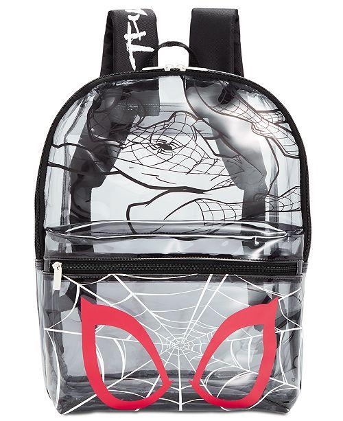 Bioworld Little & Big Boys See-Through Spider-Man Backpack