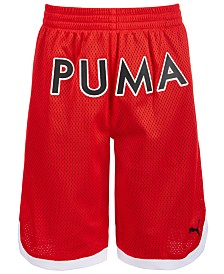 Puma Big Boys Mesh Basketball Shorts