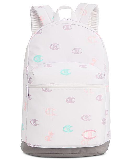 Champion Big Girls Supersize Logo Backpack