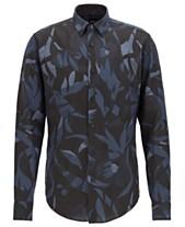 23d09296f9d9 Hugo Boss Mens Casual Button Down Shirts   Sports Shirts - Macy s