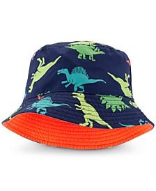 Baby Boys Reversible Dinosaur-Print Bucket Hat