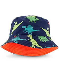 Carter's Baby Boys Reversible Dinosaur-Print Bucket Hat
